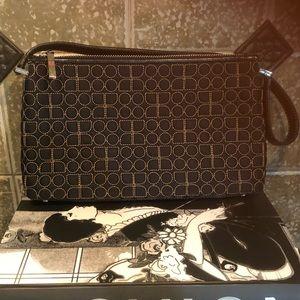 kate spade ♠️ Dot Noel Black Quilted Shoulder Bag